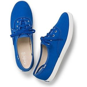 Classic Blue and White  Canvas Ked Sneakers
